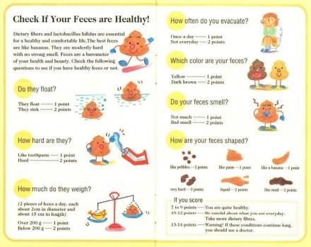 apakah tinja anda sehat