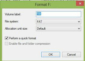 format flashdisk rusak