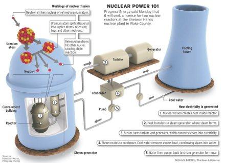 Nuclear Power Plant Scheme