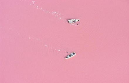 Danau Retba, Senegal