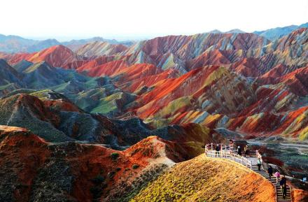 Lahan Zhangye Danxia, China